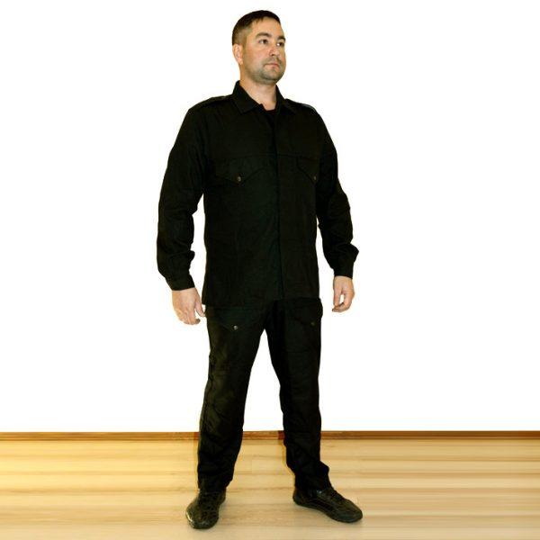 костюм черный
